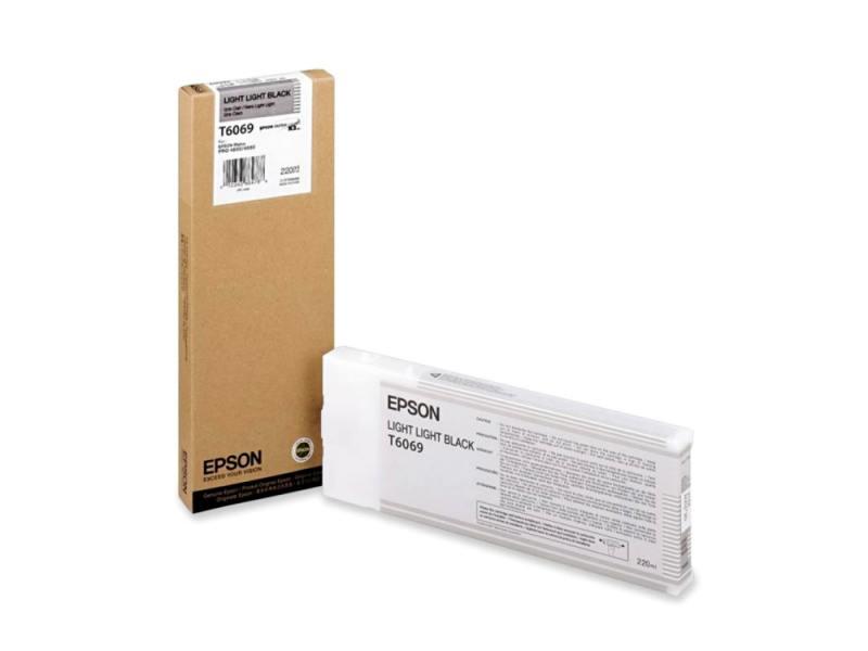 Картридж Epson C13T606900 для Epson Stylus Pro 4880 светло-серый