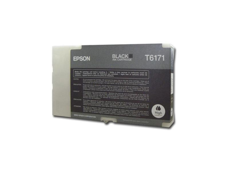 Картридж Epson C13T617100 для Epson B300/B500DN/B510DN черный азбукварик книга муз баюшки потешки азбукварик