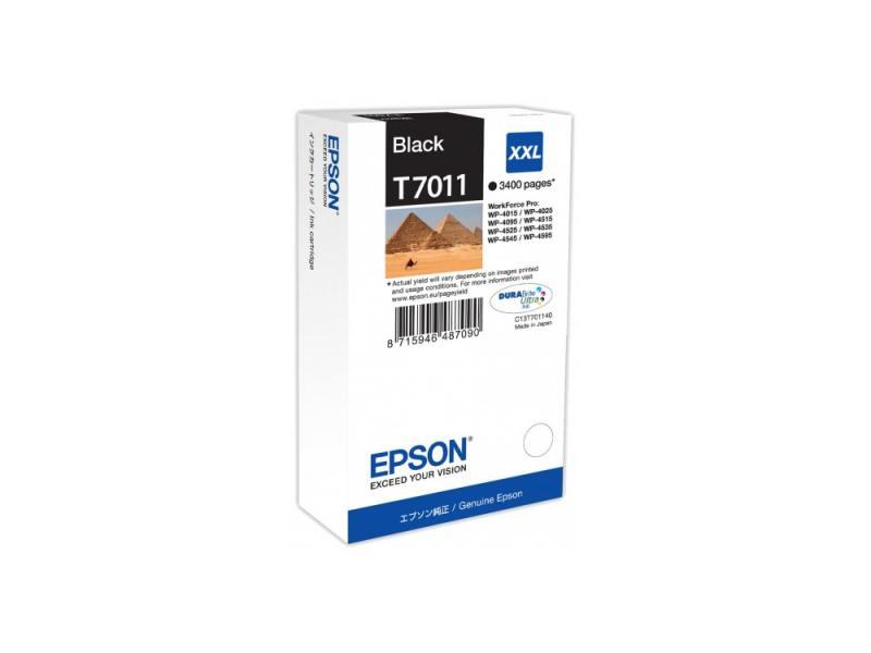 Картридж Epson C13T70114010 XXL для Epson WP4000/4500 черный