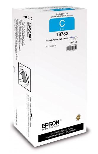 Картридж Epson C13T878240 голубой (cyan) 50000 стр для Epson WorkForce Pro WF-R5190DTW/R5690DTWF картридж epson c13t838240 для epson workforce pro wf r5190dtw wf r5690df голубой