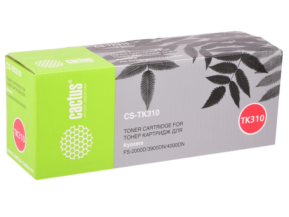 Картридж Cactus CS-TK310 для Kyocera Mita FS 2000 черный 12000стр cs 2000