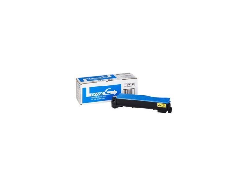 Картридж Kyocera TK-550C голубой (cyan) 6000 стр для Kyocera FS-C5200DN