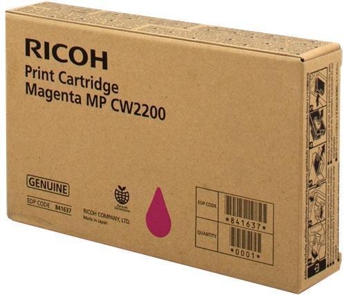 Картридж Ricoh 841637 пурпурный (magenta) 440 стр для Ricoh Aficio MP CW2200SP ricoh spc310he