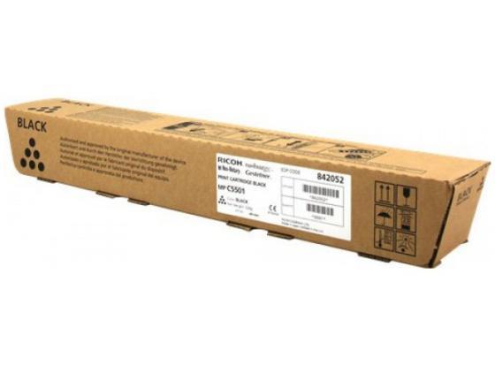 Картридж Ricoh 842052 черный (black) 25500 стр для Ricoh Aficio MP C4501/5501