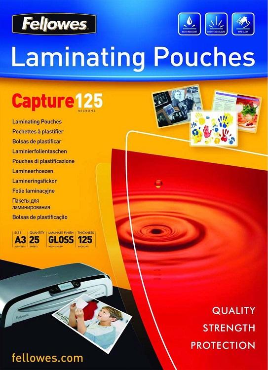 Пленка для ламинирования Fellowes FS-53965 A3 125мкм 25шт цены