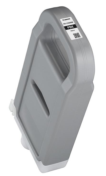 Картридж Canon PFI-1700 PBK для Canon imagePROGRAF Pro-2000 Pro-4000 Pro-4000S Pro-6000S фото черный 077 картридж canon pfi 1700 для canon imageprograf pro 2000 pro 4000 pro 4000s pro 6000s серый 0781c001