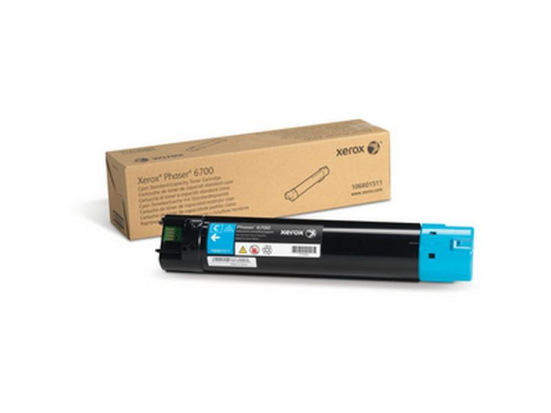 Тонер-Картридж Xerox 106R01511 для Phaser 6700 голубой тонер картридж xerox 106r01511 для phaser 6700 голубой