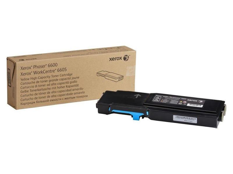 Картридж Xerox 106R02249 голубой (cyan) 2000 стр для Xerox Phaser 6600/6605