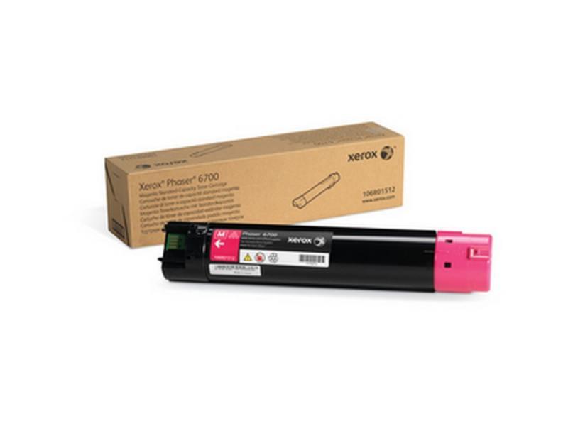 Картридж лазерный Xerox 106R01512 пурпурный (magenta) 5000 стр для Xerox Phaser 6700