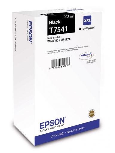 Картридж Epson C13T754140 для Epson WF-8090 Epson WF-8590 черный цены онлайн