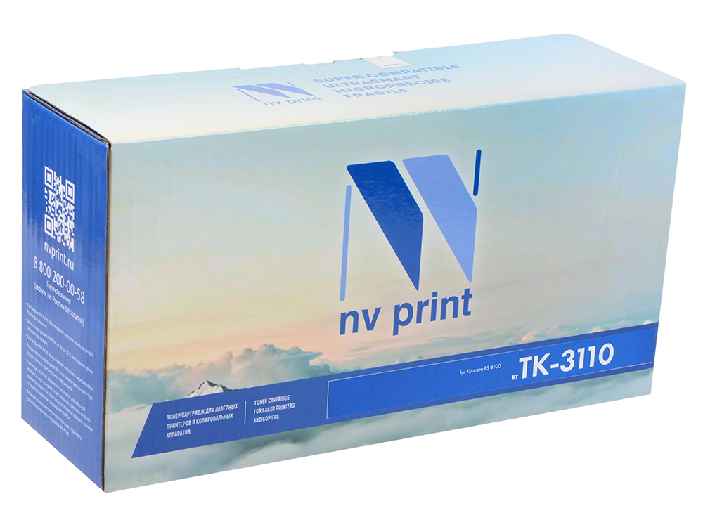 Картридж NV-Print TK-3110 черный (black) 15 500 стр для Kyocera FS-4100DN new original kyocera 2d993140 fe 500 feed trans unit for fs c5016dn