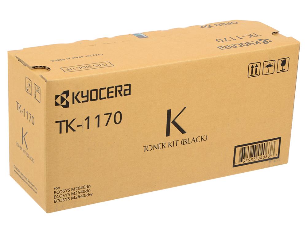 Картридж Kyocera TK-1170 для Kyocera M2040dn M2540dn M2640idw черный 7200стр картридж kyocera tk 560y 1t02hnaeu0