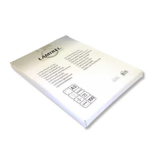 Пленка для ламинирования Fellowes Lamirel LA-7865901 А3 125мкм 100шт цены онлайн