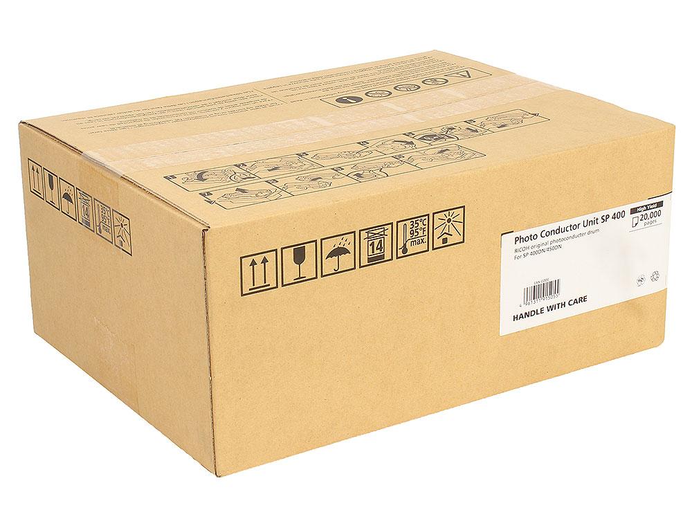 Фотобарабан Ricoh SP 400 для SP400DN/SP450DN. Чёрный. 20 000 страниц. цена
