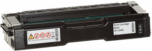 Картридж Ricoh SP C340E черный (black) 3800 стр для Ricoh Aficio SP C340DN