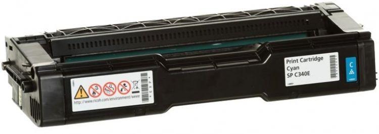 Картридж Ricoh SP C340E голубой (cyan) 3800 стр для Ricoh Aficio SP C340DN