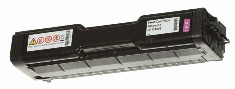 Картридж Ricoh SP C340E пурпурный (magenta) 3800 стр для Ricoh Aficio SP C340DN