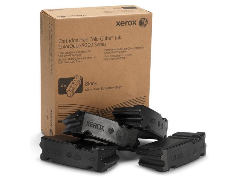 Набор твердочернильных брикетов Xerox 108R00840 черный (black) 4 x 10000 стр для Xerox ColorQube 9201/9202/9203/9301/9302/9303