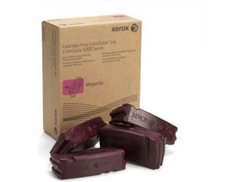 Набор твердочернильных брикетов Xerox 108R00838 пурпурный (magenta) 4 x 9250 стр для Xerox ColorQube 9201/9202/9203/9301/9302/9303