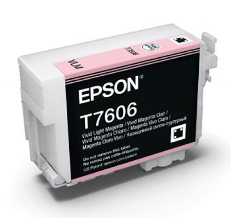 Картридж Epson C13T76064010 светло-пурпурный (light magenta) 25,9 мл для Epson SureColor SC-P600 цена и фото