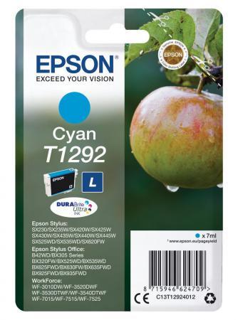 Картридж Epson C13T12924012 для Epson St SX420/425/525WD/B42WD/BX320FW/BX625WFD голубой картридж epson c13t13024012 для epson st sx525wd sx535wd st of b42wd bx320fw bx625fwd bx635fwd wf 70