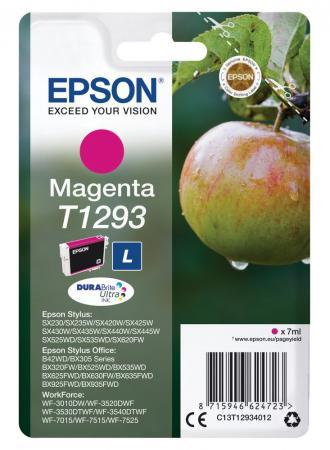 Картридж Epson C13T12934012 для Epson St SX420/425/525WD/B42WD/BX320FW пурпурный картридж epson c13t13024012 для epson st sx525wd sx535wd st of b42wd bx320fw bx625fwd bx635fwd wf 70