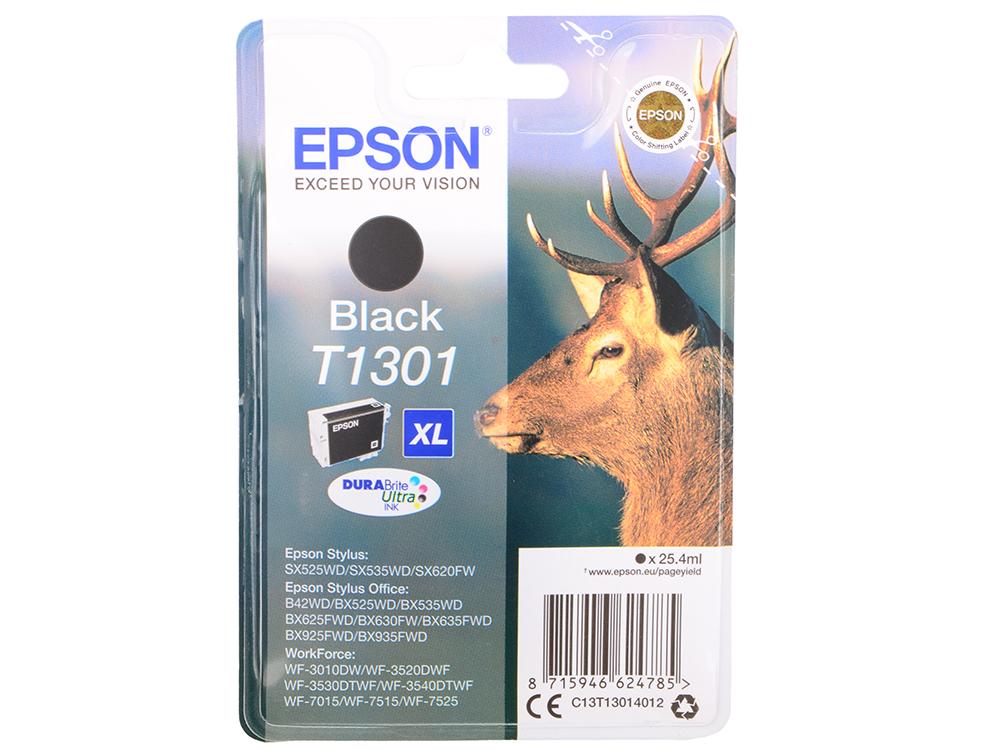 Картридж Epson C13T13014010/12 XL для B42WD черный 945стр epson c13t17144a10 xl yellow