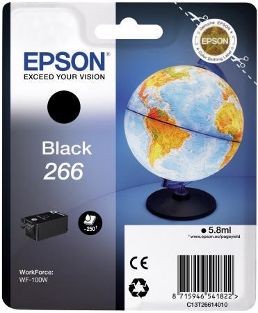 Картридж Epson C13T26614010 черный (black) 5,8 мл для Epson WorkForce WF-100W