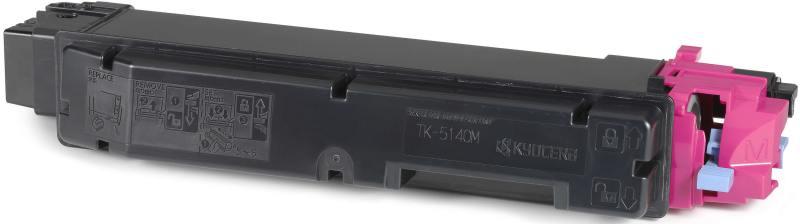 Картридж Kyocera TK-5140M пурпурный (magenta) 5000 стр. для Kyocera M6030cdn/M6530cdn/P6130cdn картридж sakura tk 590c 5000 стр
