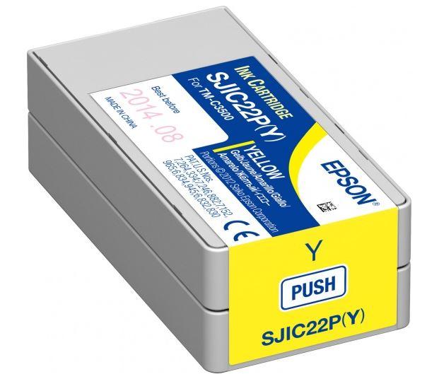 Картридж Epson C33S020604 желтый (yellow) для Epson ColorWorks C3500 картридж epson t0804 yellow c13t08044011