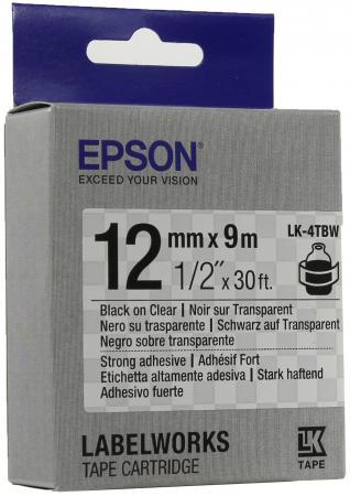 Лента Epson LK-4TBW C53S654015 цена