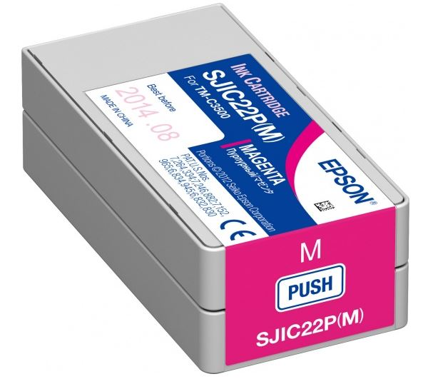 Картридж Epson C33S020603 пурпурный (magenta) для Epson ColorWorks C3500