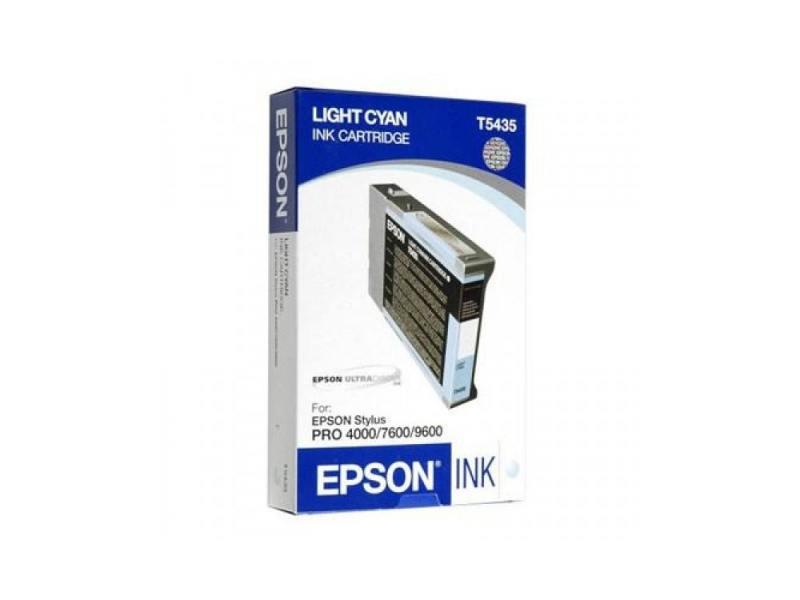 цена на Картридж Epson C13T543500 для Epson Stylus Pro 7600/9600 светло-голубой
