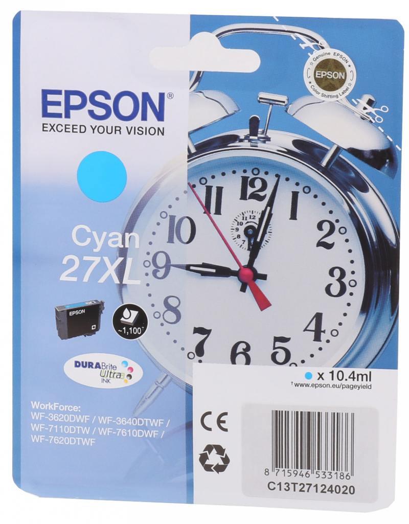 Картридж Epson C13T27024020 для Epson WF7110/7610/7620 голубой 350стр
