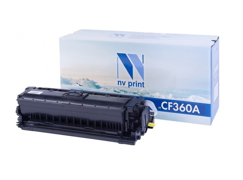 Картридж NV-Print CF360A черный (black) 6000 стр для HP LaserJet Color M552dn/M553 / MFP-M577