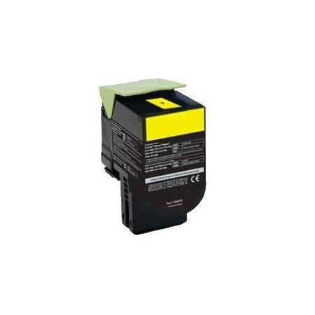 Картридж Lexmark 70C8HYE для Lexmark CS310/CS410/CS510 желтый 3000стр ultra bright cree xml t6 3800lumens cree led torch zoomable led flashlight for 3xaaa or 1x18650 free shipping