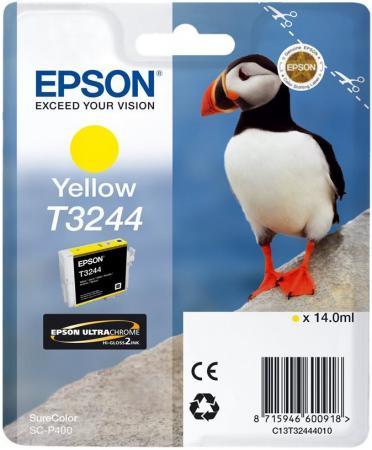Картридж Epson C13T32444010 желтый (yellow) 14 мл для Epson SureColor SC-P400 цена 2017