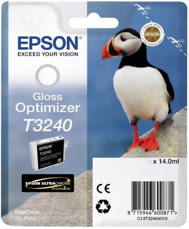 Картридж Epson C13T32404010 оптимизатор глянца 14 мл для Epson SureColor SC-P400 цена 2017