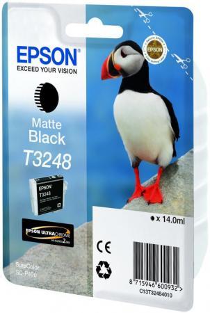 Картридж Epson C13T32484010 черный матовый (matte black) 14 мл для Epson SC-P400 цена 2017