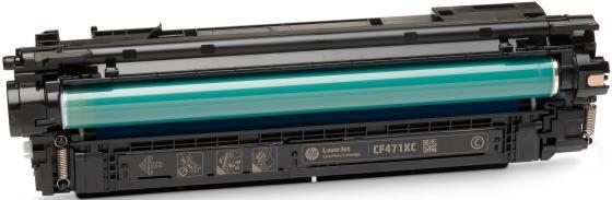 Картридж HP CF471X (657X ) для HP CLJ MFP M681/M682. Голубой. 23 000 страниц. спец hp 24 000