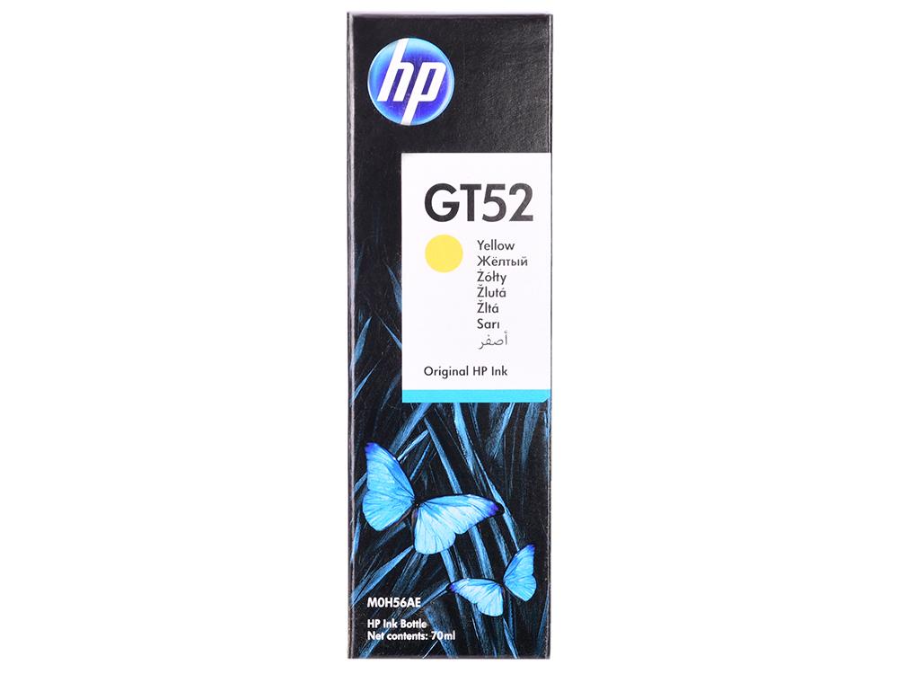 Фото - Ёмкость с чернилами HP M0H56AE (GT52) МФУ HP DeskJet GT 5810 (X3B11A)/GT 5820 (X3B09A) и Ink Tank 315/415/319/419. Жёлтый. 8000 страниц. мфу hp deskjet gt 5810 x3b 11 a
