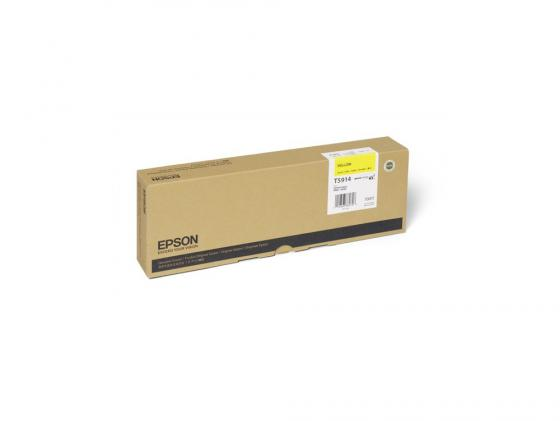 Картридж Epson C13T591400 желтый (yellow) 700 мл для Epson Stylus Pro 11880