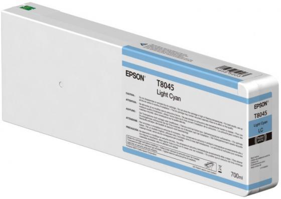 Картридж Epson C13T804500 для Epson CS-P6000 голубой