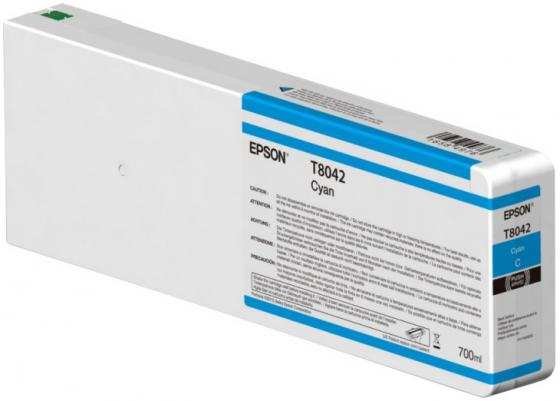 Картридж Epson C13T804200 для Epson CS-P6000 голубой чернильный картридж epson c13t79014010