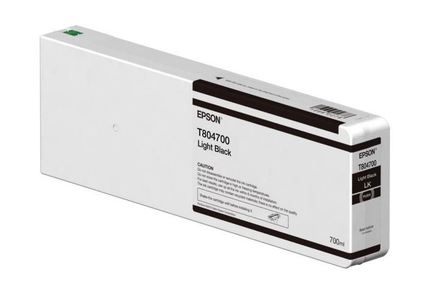 Картридж Epson C13T804700 светло-черный (light black) 700 мл для Epson SureColor SC-P6000/7000/8000/9000