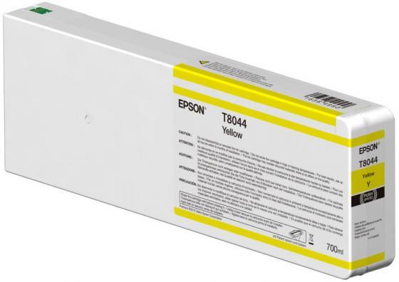 Картридж Epson C13T804400 желтый (yellow) 700 мл для Epson SureColor SC-P6000/7000/8000/9000