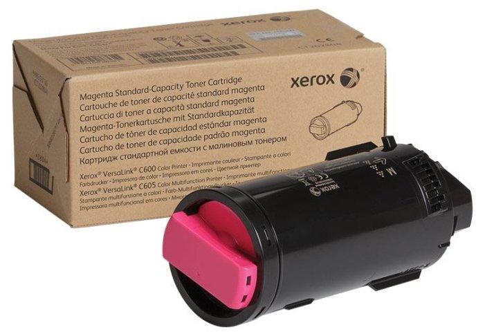 Картридж Xerox 106R03909 пурпурный (magenta) 6000 стр для Xerox VersaLink C600/605