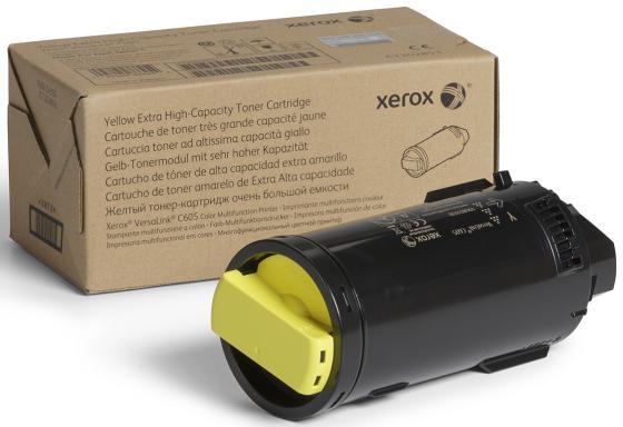 Картридж Xerox 106R03914 для VersaLink C600/C605 желтый 10100стр