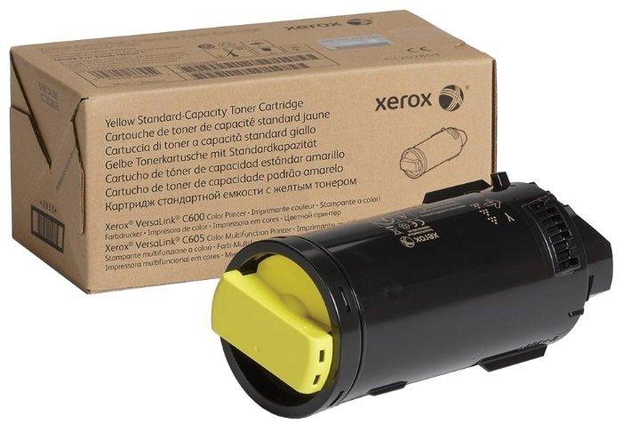 Картридж Xerox 106R03910 желтый (yellow) 6000 стр для Xerox VersaLink C600/605