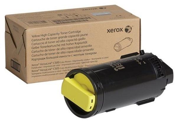 Картридж Xerox 106R03938 желтый (yellow) 16800 стр для Xerox VersaLink C600/605